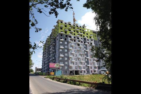 Buromoscow's Kommunarka - a 7000sq m housing scheme in Moscow
